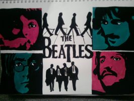 The Beatles by Jenziemo