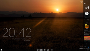 Good Evening! -Rainmeter by LuminaryDragon