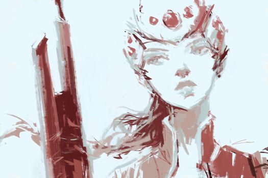 Widowmaker (Overwatch) by Alex-Chow