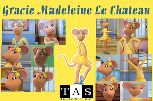 Gracie Madeleine Le Chateau Collage by Shafty817