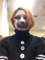 Puppet .:FNAF2:. .:Cosplay:. .:Costume Day:. by Roxaslover1998
