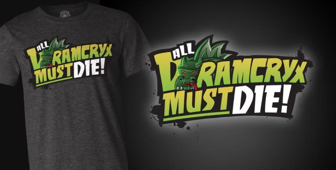 CaptainSparklez T-Shirt: All Dramcryx Must Die by FinsGraphics