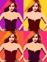 Avril version pop art by orangedark