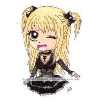 Death Note Misa 2013 by artsbyjamie