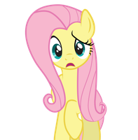 confused fluttershy by karlosbaygorriakb