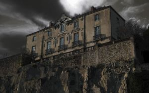 The house on the hill by Pierre-Lagarde