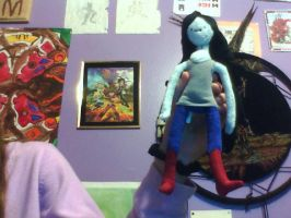 My Marceline plushie by GolfingQueen