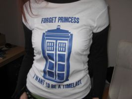 Timelady Shirt by Eviscares