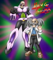 Wily and Sigma by Memphiston