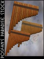 PanPipes 004 by poserfan-stock