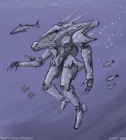 Daemoria Aquatic Mech by VulnePro