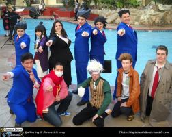PL vs AA Gathering: TEAM Ace Attorney by KatyMerry