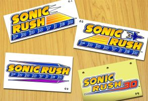 Rush 3 Concept Logos by Fuzon-S