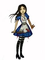 Alice Madness -color by PetitRevance