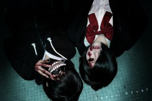 Tokyo Ghoul - Touka [Cosplay] by Shiroi28