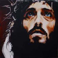 Robert Powell as Christ by Stu-mo