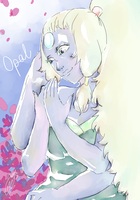 Opal from Steven Universe by MoreMadness