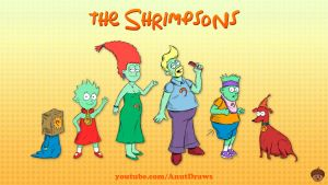 The Shrimpsons by AnutDraws