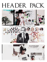 Header Pack (2) [ 3 Psd - Graphic ] by IremSezen