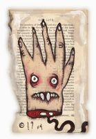 Monster Hand by justinaerni