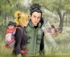 Nara clan forest by RamaChan