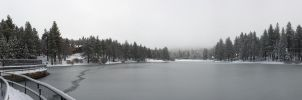 Green Valley Lake, Winter by FellowPhotographer