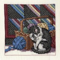 Cats, Baskets, and Quilts [Part 2] by pinkythepink