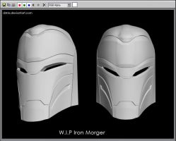 WIP Iron Morger Head by D3r3x