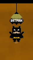 batman flat pixel v2 by zhalovejun