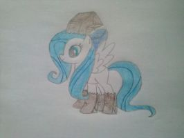 Minty Blue in paper bags by Dont-worry-cookie