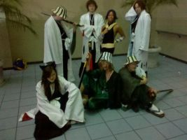 bleach photoshoot small group by kimberlyturner