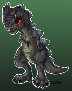 Baby Godzilla by DarkSalvation