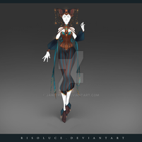 (CLOSED) Adoptable Outfit Auction 194 by JawitReen