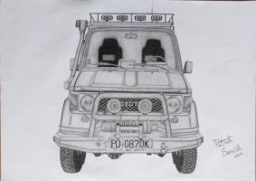 Toyota Land Cruiser by Patres68