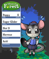 Idlewood Forest Application: Poppy by Lhumina