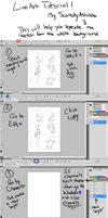 Lineart Tutorial - Photoshop by ScaredyAsh006