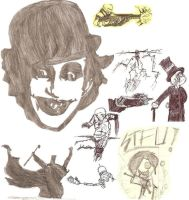 Random Sketches by King-of-Earth