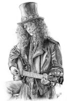 Slash drawing by anasoriano