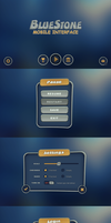 BlueStone Mobile UI by Evil-S