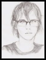Mikey Way by cafeinne