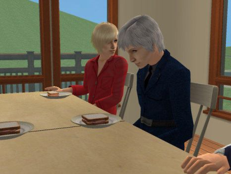 Sims 2: Prussia and Russia~ by CharlotSnow