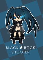 Black Rock Shooter by rikstal