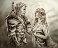 Alistair and Lox Amell by Inveleth