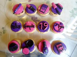 Make Up Cupcakes by PnJLover