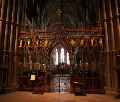 Rood Screen, Lichfield Cathedral by peterggordon