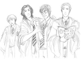 Marauders Sketch by Olaunis