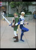 Legend of Zelda - Teaming Up by faore