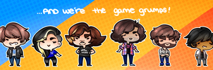 Game Grumps by SakuraDraws