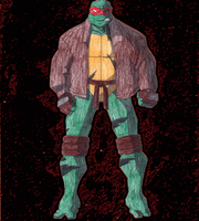 TMNT SAINW Raph by JesusFreak-4Ever