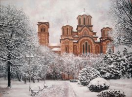 st. mark church, Belgrade by DraganPaunovic